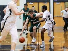 Boys Basketball: Cardinal Gibbons vs. East Chapel Hill (Feb 23,