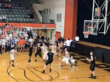 Raw: Buzzer beater pushes Green Hope past New Hanover