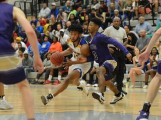 Boys Basketball: Broughton vs. Garner (Feb. 23, 2017)