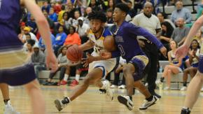 Boys Basketball: Broughton vs. Garner (Feb. 23, 2017)