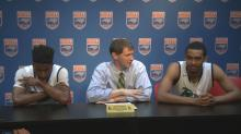 Frazier, Mebane, Hunter discuss Leesville's state championship loss