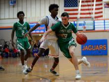 Boys Basketball: Cary vs Athens Drive (January 12, 2018)