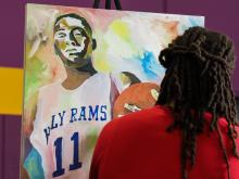John Wall Day and Jersey Retriement - Word of God Christian Acad