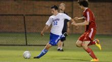 IMAGE: Team chemistry lifts East All-Star men's soccer over West