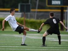 Boys Soccer: Millbrook vs. Cardinal Gibbons (Aug. 25, 2014)
