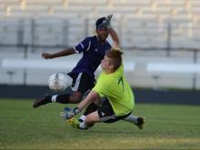 Boys Soccer: Broughton vs. Garner (Aug. 24, 2016)