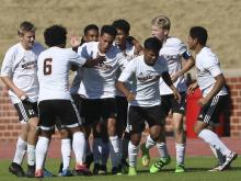 The Wallace-Rose Hills Bulldogs defeated the Bishop McGuiness Villians 3-1 Saturday to win the NCHSAA 1A state soccer championship.