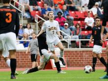 Marvin Ridge earned the 1-0 win over Chapel Hill in the 3-A boys soccer state championship on Saturday.