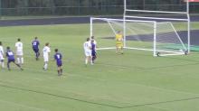 Jack Ashby scores on free kick vs. Middle Creek