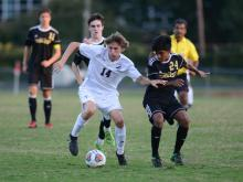 Boys Soccer: Enloe vs. Broughton (Sept. 18, 2017)
