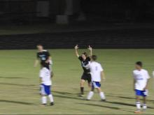 West Johnston's Zachary Langness scores to force tie with Garner
