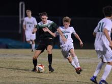 Boys Soccer: Cardinal Gibbons vs. Leesville Road (Oct. 4, 2017)