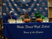 Wake Forest football players sign with colleges (Feb. 1, 2017)