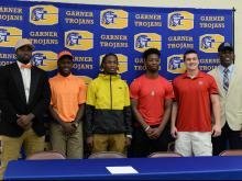 Garner High School Signing Day (Feb. 1, 2017)