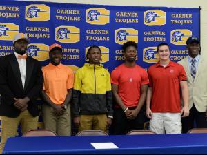 Garner High School Signing Day (Feb. 1, 2017)