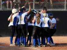 Princeton defeated North Stanly in game three of the 1-A softball state championship series.