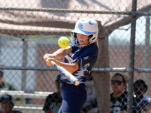 Softball: Eastern Randolph vs South Granville
