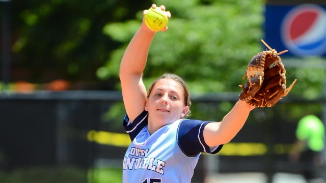 Miranda Barker (15) of South Granville. Parkwood defeats South Granville 3 to 2 to force a Game 3 for the 2A NCHSAA State title on Saturday, June 3, 2017. (Photo By: Beth Jewell/HighSchoolOT.com)