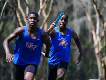 Track and field teams from all over Wake County gathered at Athens Drive High School for the annual county championship Saturday.