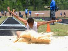 Teams and athletes from across the region gathered at Apex Friendship High School for the 4-A Mideast Track & Field Regional Championship.