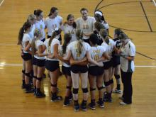 Volleyball: Apex vs. Broughton (Aug. 26, 2014)