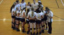 IMAGES: Volleyball: Apex vs. Broughton (Aug. 26, 2014)