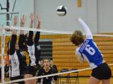 Volleyball: East Chapel Hill vs Wake Forest (Oct. 18, 2014)