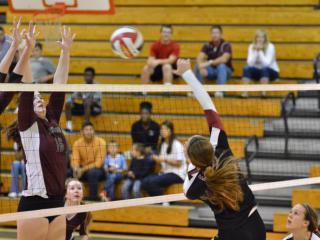 Volleyball: Green Hope vs Ashley (Oct. 18, 2014)