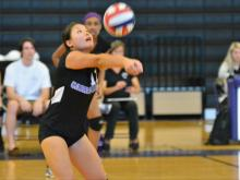 Volleyball: Carrboro vs South Columbus (Oct. 25, 2014)