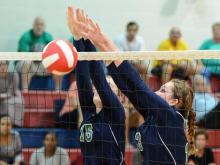 Volleyball: Leesville Road vs. Sanderson (Sept. 22, 2015)