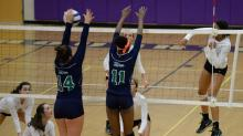 IMAGES: Volleyball: Leesville Road vs. Broughton (Oct. 29, 2015)