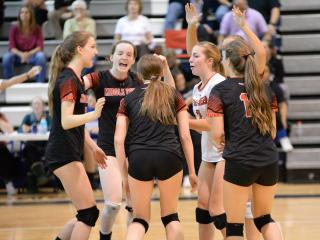 Volleyball: Middle Creek vs Clayton (Oct. 26, 2016)