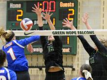 Volleyball: Person vs Green Hope (Nov. 1, 2016)