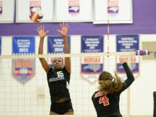 Volleyball: Currituck vs Carrboro (Nov. 3, 2016)
