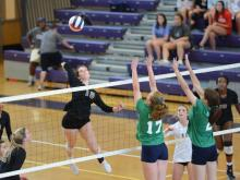 Volleyball: Leesville Road vs. Broughton (Sept. 18, 2017)