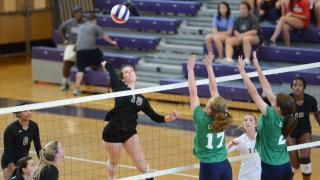 Volleyball: Leesville Road vs. Broughton (Sept. 18, 2017)