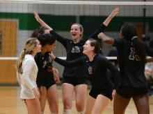 Volleyball: Broughton vs. Cardinal Gibbons (Sept. 26, 2017)