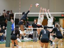 Volleyball: Broughton vs. Cardinal Gibbons (Oct. 30, 2018)