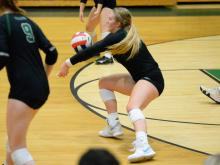 Volleyball: South Central vs Green Hope (Oct. 30, 2018)