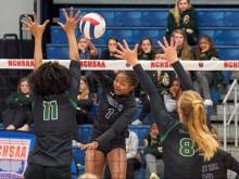 4A Volleyball: Green Hope vs. Ardrey Kell (Nov. 9, 2019)