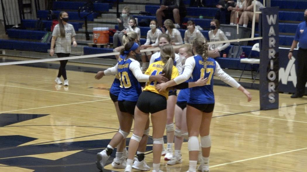 Volleyball: No. 8 McMichael goes on the road and beats Western Alamance in three sets