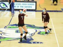 Volleyball: East Wake Academy vs. Mountain Island Charter (Jan. 23, 2021)