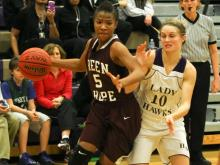 Girls Basketball: Green Hope vs. Holly Springs (Jan. 31, 2013)