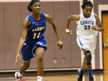 Girls Basketball: Garner vs. Clayton (Feb. 6, 2013)