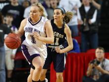 Girls Basketball: River Mill Academy vs. Bishop McGuinness (Mar. 16, 2013)