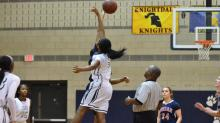 IMAGES: Girls Basketball: Jordan vs. Southeast Raleigh (Feb. 26, 2014)