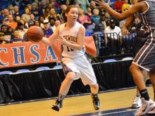 Girls Basketball: Riverside-Martin vs Rosewood (March 7, 2015)