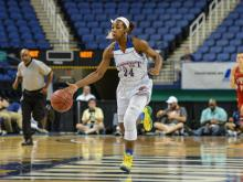 Chinyere Bell earned MVP honors as the East girls defeated the West girls 84-72 in the East-West All-Star Girls Basketball Game at the Greensboro Coliseum.