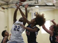 Girls Basketball: Durham Jordan vs East Wake (December 28, 2015)