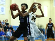 Girls Basketball: Riverside vs. Apex (Dec. 29, 2015)